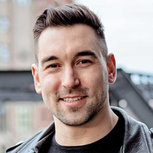 headshot of Alek